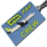 AIR BALTIC 737-300 - Crew Tag